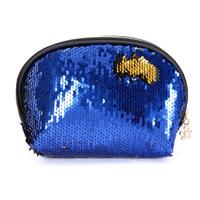 STK Косметичка сине-золотая