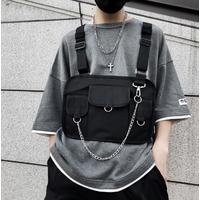 STK Черная сумка наплечная