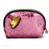 STK Косметичка розово-золотая