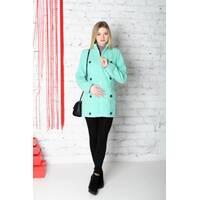 Пальтечко кашемір демісезонне подовжене 3 в 1: вагітність, слингоношение, звичайне пальто (кольори в ассорт.)