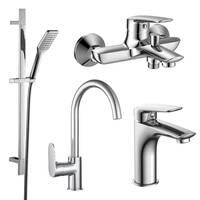 PL набор смесителей (4 в 1) для ванны и кухни Imprese