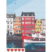 STK Картина по номерах Венеція, кольорове полотно, 40*50 см, без коробки Barvi