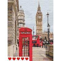 STK Картина по номерах Лондон, кольорове полотно, 40*50 см, без коробки Barvi
