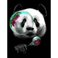 "STK Картина по номерах ""Панда"" 40*30 см без коробки, ArtStory   акриловий лак"