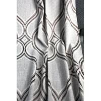 Ткань для штор абстракция натуральная основа