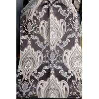 Ткань для штор в классическом стиле корона Коричневый