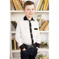 """Шкільна сорочка для хлопчика """"ks-14"""""""