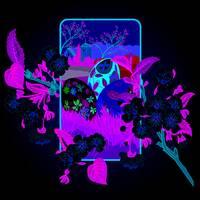 """Серветка  ТМ """" La Fleur""""  ЗЗхЗЗ,  2 шари """"Весняний цвіт"""" 20шт."""