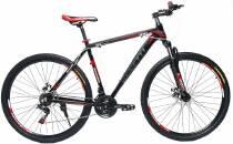 """Велосипед 29"""" Benetti-Grande DD  рама - 18"""" чорно-червоний"""
