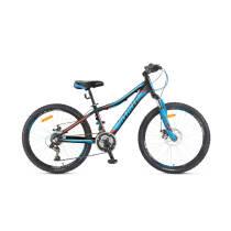 """Велосипед 24"""" Avanti RAIDER черно-синій з зеленим рама 11"""""""