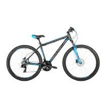 """Велосипед 29"""" Avanti VECTOR рама 19"""" чорно-блакитний"""