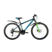 """Велосипед 26"""" Avanti SPRINTER рама 15"""" чорно-синій"""