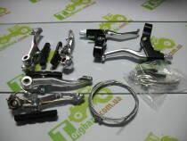 Гальма V-brake з ручками повний к-т V04B17
