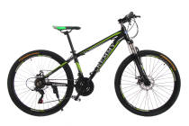 Велосипед 26 Remmy ASTOR 15 AM DD чорно-зелений (м)