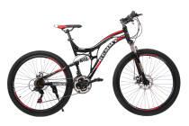 Велосипед 26 Remmy EVEREST 18 AM2 DD чорно-червоний глянець