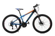 Велосипед 26 Remmy VICTORY AM DD 14 Черно-помаранчево-синій глянец