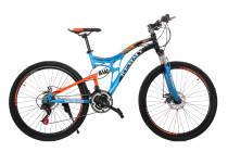 Велосипед 26 Remmy GARA AM2 RS36 DD 19 светло синьо-чорно-помаранчевий