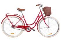 """Велосипед 28"""" Dorozhnik RETRO 14G рама-19"""" St рубіновий"""