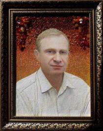 Портрет з бурштину