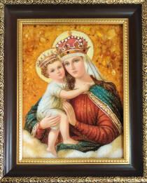 Икона Иерусалимской Божией Матери 15х20 см без стекла