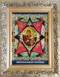 Икона Богородицы «Неопалимая Купина» 20х30 без стекла