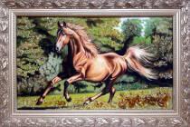 "Картина из янтаря ""Лошадь"" 30х50 см"