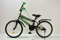 """Велосипед 20""""- Remmy ROKY черно-зеленый матовый"""