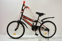 """Велосипед 20""""- Remmy ROKY чорно-помаранчевий матовий"""