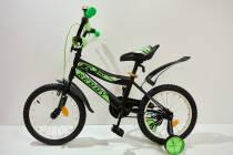 """Велосипед 16""""- Remmy BOSS чорно-зелений матовий"""