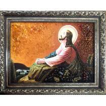"""Бурштинова ікона """"Ісус на оливковій горі"""" в наявності"""