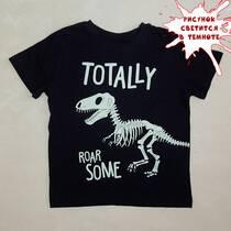 В продаже футболка со светящимся в темноте рисунком.