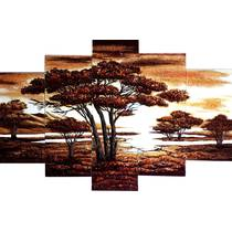 Для заказа доступны модульные картины из янтаря высокого качества