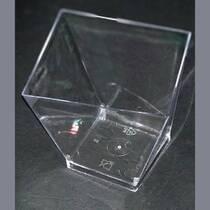 Одноразовая десертница    из стеклоподобного пластика Галсофт Сервис, 130 мл , Трапеция ГП 539 (116-10)