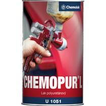 """Лак 2-К полиуретановый """"CHEMOPUR"""" для металла 0,9л."""