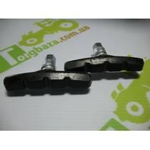 Гальмівні колодки V-brake з різьбою (2шт)
