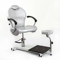 Педикюрне крісло з підставкою на станині KaterynaLab TOP JETTA