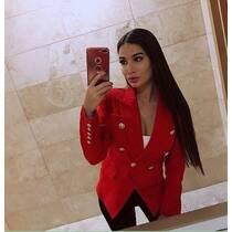 Червоний піджак Balmain купити в Луцьку