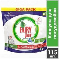 Капсули для посудомийних машин Fairy Jar Expert All in 1, 115 шт