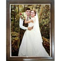 Весільний портрет із бурштину
