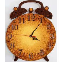 Годинник із бурштину 30х40 см