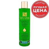Очищающий тоник для лица Health&Beauty с Алоэ Вера и зеленым чаем 250 мл.