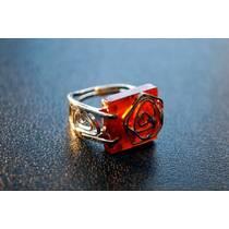 """Перстень із бурштину """"Розалія"""""""