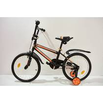 "Велосипед 18""- Remmy BEST чорно-помаранчевий (матт)"