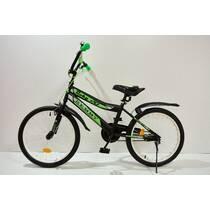 """Велосипед 20""""- Remmy ROKY чорно-зелений матовий"""