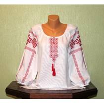 """Рубашка женская вышитая ручной работы """"Словянские обереги. Ладинец"""""""