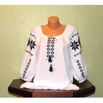 """женская рубашка с вышивкой """"Словянские символы - обереги"""""""