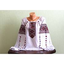 Жіноча вишиванка з ручною вишивкою