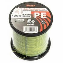Шнур Shark 4x super round braided 0.30 1000 м