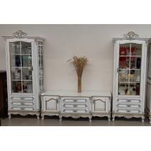 Однодверная витрина Версаль Барокко стиль