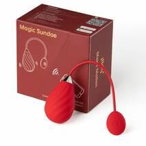 Смарт-виброяйцо Magic Motion Sundae Red